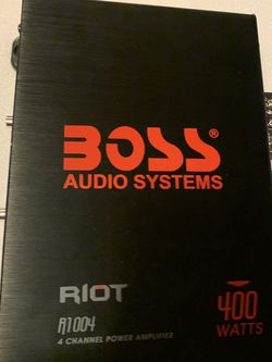 Boss Riot Amp , Car Amplifier for Sale in Independence,  OH
