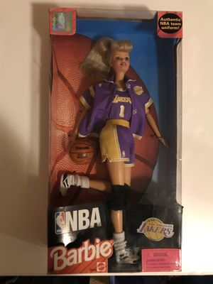 1998 NBA Lakers Barbie for Sale in Paducah, KY