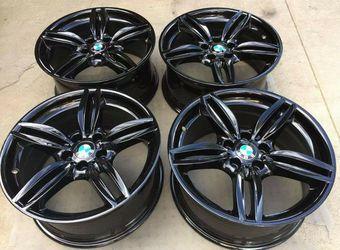 "19"" Bmw 550i 535i 351 M Sport Wheels Rims Rines for Sale in Huntington Beach,  CA"