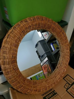 Wicker Style Mirror for Sale in Odenton, MD