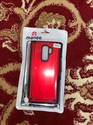 Samsung Galaxy S9 plus red and black protective case for Sale in Skokie, IL