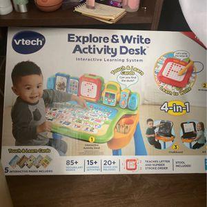 Kids VTECH Explore and Write activity desk for Sale in Saint Paul, MN