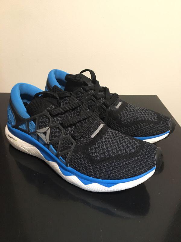 Men's Brand New Reebok Floatride Size 9.5 Black / Blue Shoes