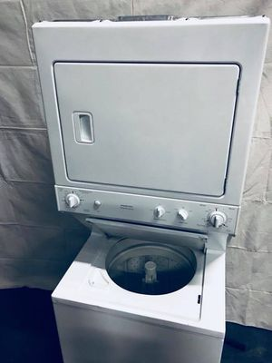 27 inch wide Stackable washer and dryer info, apartment size, closet size for Sale in Denver, CO
