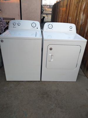 ****AMANA WASHER N ELECTRIC DRYER SET** for Sale in Bakersfield, CA