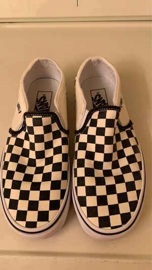 Checkered Vans Size 8.5 in women for Sale in West Palm Beach, FL
