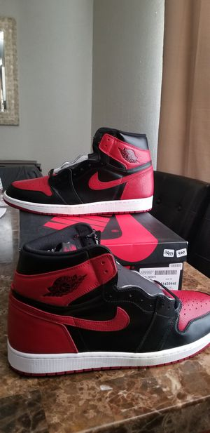 Air jordan 1 Retro Bred/ Banned. (2016) size 16. Brand new with tags and box. Serious inquiries only. Dead stock. Please read the entire post . for Sale in Phoenix, AZ