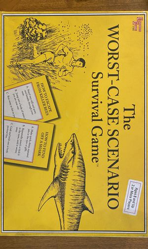 The Worst Case Scenario Survival Board Game for Sale in Phoenix, AZ