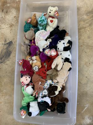 Vintage Original TY Beanie Babies Stuffed Animal Toy for Sale in Miami, FL