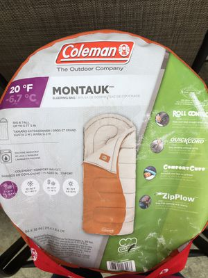 Coleman Montauk Sleeping Bag for Sale in Long Beach, CA