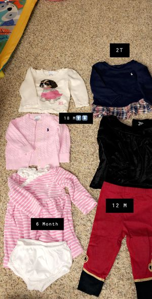 Polo Ralph Lauren 6M-2T for Sale in West Bloomfield Township, MI
