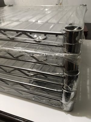 """Set of Five Steel Storage Shelves. Only Size 18""""x18"""". for Sale in Naperville, IL"""