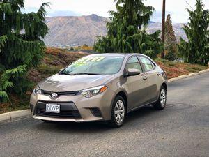 2016 Toyota Corolla LE for Sale in East Wenatchee, WA