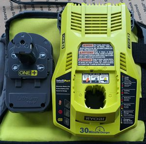 Ryobi 18 volt 3 amp battery and charger for Sale in Greenville, SC