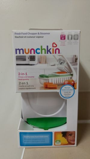 Munchkin Fresh Food Chopper and Steamer for Sale in Detroit, MI