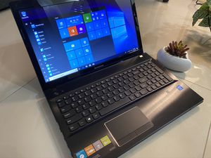 Laptop 💻 lenovo 15'6 display 4 gb of ram 500 gb stores 🏬 windows 10 64 bits charger 🔌 good and battery 🔋👌✅✅✅ for Sale in Miami, FL