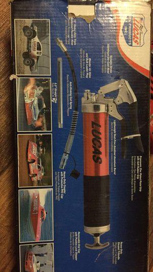 Lucas grease gun for Sale in Escondido, CA