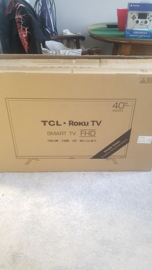 """40"""" inch TCL Roku TV for Sale in Washington, DC"""