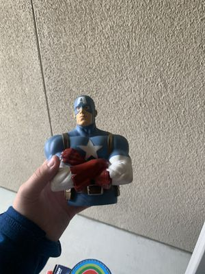 Captain America piggy bank and more!!! for Sale in Vista, CA