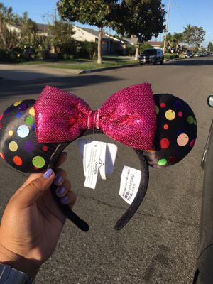 BRAND NEW AUTHENTIC MINNIE MOUSE DISNEY POLKA DOTS for Sale in San Diego, CA