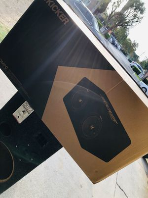 Kickers subwoofer 🔊 ( brand new ) for Sale in Santa Ana, CA