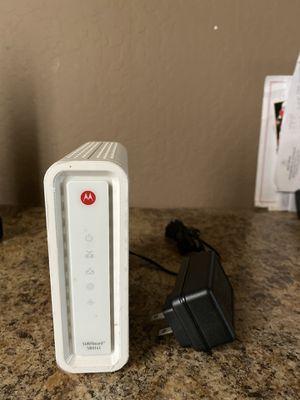 Motorola modem for Sale in Avondale, AZ