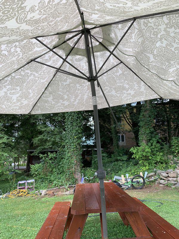 FREE Patio Umbrella