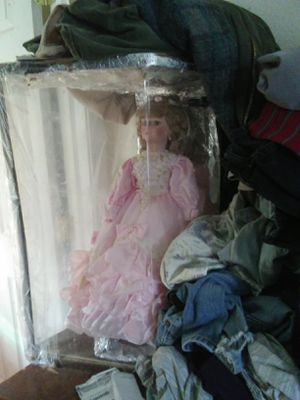 Collectible Porcelain Doll for Sale in Dewey, OK