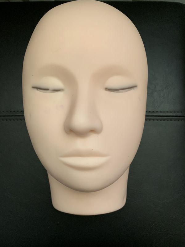 Training Mannequin Head for eyelashes extension