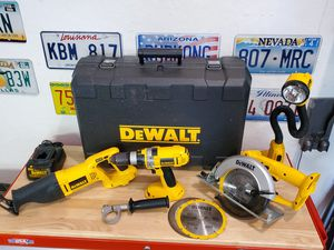 DEWALT CORDLESS POWER TOOLS for Sale in Glendale, AZ