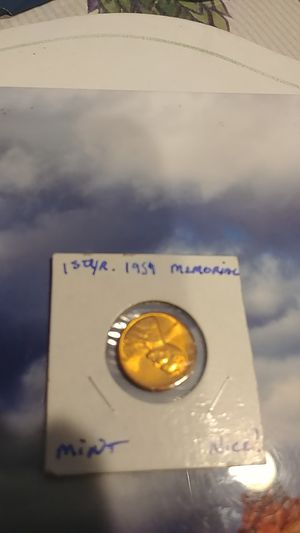1959 1st Year of Memorial Penny Uncirculated for Sale in Avondale, AZ