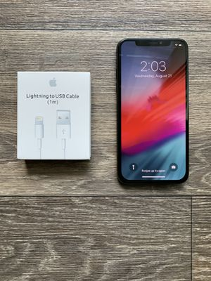 Verizon Unlocked iPhone X 256GB AT&T / Cricket space grey mint condition for Sale in Chamblee, GA