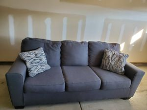 Ashley Furniture sofa in gray for Sale in Durham, NC