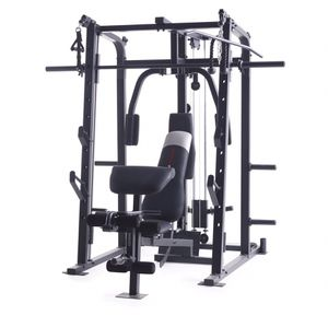 Weider Pro 8500 Smith Cage Strength Trainer with Plate Storage for Sale in Addison, IL