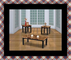 3pc marble coffee table for Sale in Crofton, MD