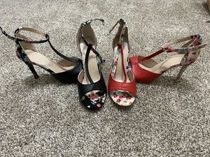 """4"""" black and red heels for Sale in Fayetteville, NC"""