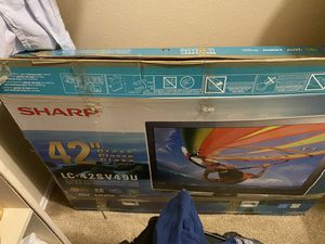 Sharp LC 42sv49u 42 inches for Sale in Irving, TX