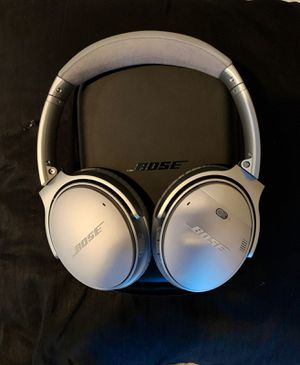 Bose qc35 silver for Sale in Santa Clara, CA