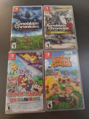 Nintendo switch games $45 each for Sale in Aurora, CO
