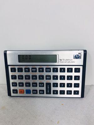 Hewlett-Packard Hp 12c Platinum Financial Calculator for Sale in Providence, RI