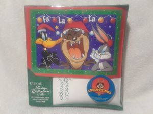 Vintage Looney tunes Fa La La greeting cards for Sale in Southwest Ranches, FL