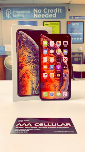 iPhone XS Max - 256GB / 64GB - Factory Unlocked / ATT T-Mobile Verizon Sprint Starting @ for Sale in Arlington, TX