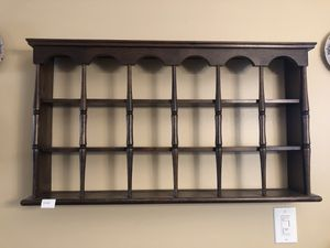 Wood 3 Tier Shelves Hang Wall for Sale in NEW CARROLLTN, MD