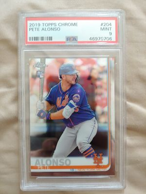 Pete Alonso RC Mets PSA baseball card for Sale in Parkland, FL