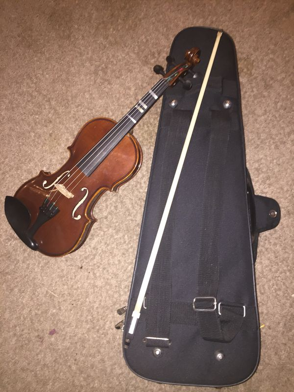 Violin,bow, and case