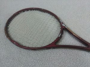 """Wilson Tapered Beam Tennis Racket PWS, Strung Graphite 95"""" & Grip 4 1/4 for Sale in New Canaan, CT"""