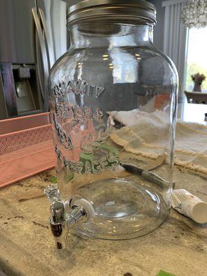 Large mason jar beverage dispenser for Sale in Bakersfield, CA