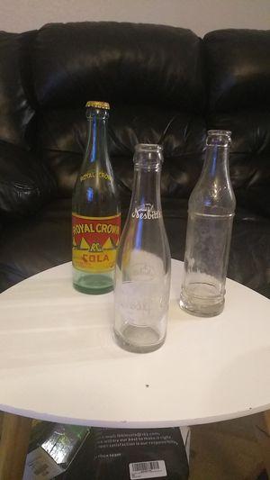Vintage soda bottles for Sale in Lynnwood, WA