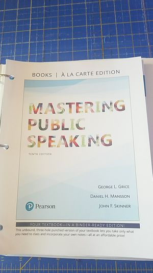 Mastering public speaking for Sale in Vancouver, WA