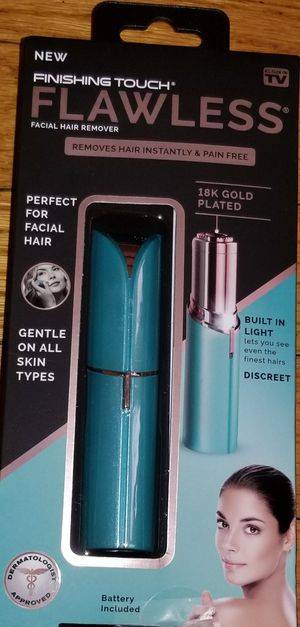 FINISHING TOUCH FLAWLESS FACIAL HAIR REMOVER for Sale in Greenwood, IN